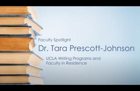 Tara Prescott-Johnson Featured in Faculty Spotlight Event at UCLA Undergraduate Admission's Fall Open House